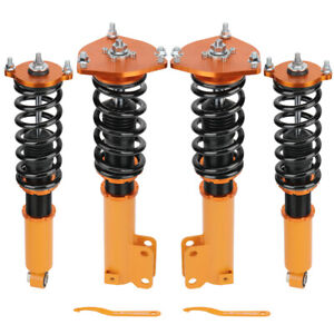 Tuning Coilovers Kit For Mitsubishi Galant 99 03 Adj Height Shock Absorber