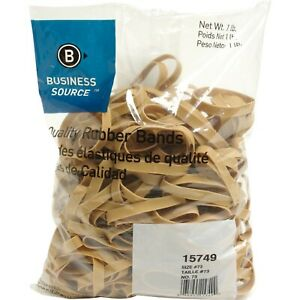 Business Source Quality Rubber Bands Size 73 Bsn 15749 25 Packs 1 Carton