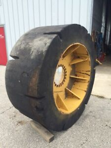 Setco Hard Rubber Loader Tires