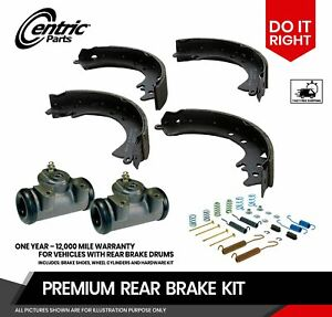 Centric Brake Shoes Hardware And Wheel Cylinders For Toyota Paseo Tercel