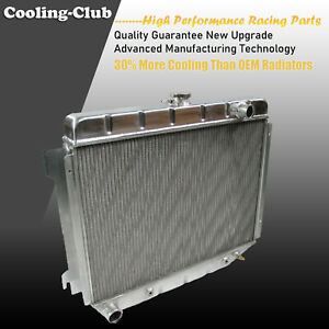 Fit 68 74 Dodge Charger Plymouth Mopar V8 Big Block Kks375 Aluminum Radiator