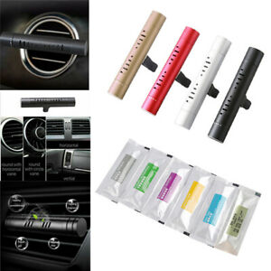 Auto Car Air Vent Conditioning Outlet Freshener Solid Perfume Clip Diffuser