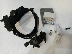 New Led Binocular Indirect Ophthalmoscope Rechargable With Accessories