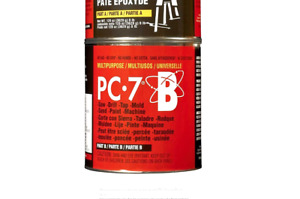 Pc Products Pc 7 Epoxy Adhesive Paste Two part Heavy Duty 8 Lb In Two Cans