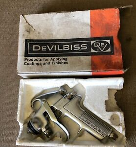 Nos Vintage Devilbiss Spray Gun Model Jgk 501 Made In Usa