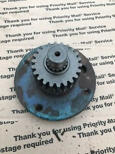 Mitsubishi Satoh Beaver S370 M372 Front 4x4 Axle Wheel Mount Shaft With Gear