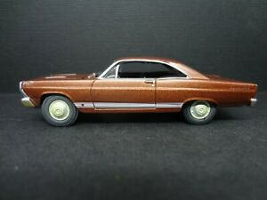 Johnny Lightning 1966 Ford Fairlane Gt Emberglo Unrestored Loose New Mint 1 64
