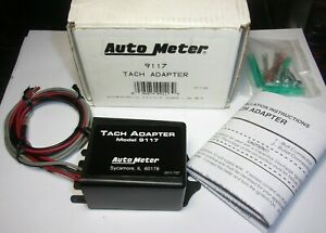Autometer 9117 Tachometer Adapter Tach Distributorless Ignitions
