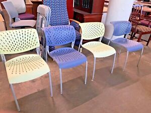 Lot Of 4 Modern Guest side Chairs By Izzydesign