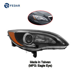 Headlight Fit Chrysler 200 S model 4door convertible 2011 12 13 14 Curbside Rt