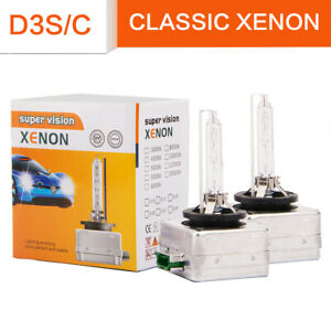 2x D3s D3c 66340 42403 Replace For Osram Factory Hid Xenon Headlight Lamps Bulb