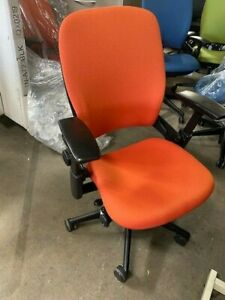 Reupholstered Steelcase Leap V2 Office Chair