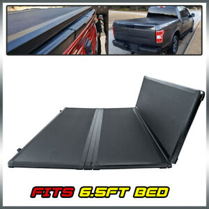 6 5ft Bed Tonneau Cover Hard Tri Fold For Ford F150 04 08 Pickup Truck Crew Cab