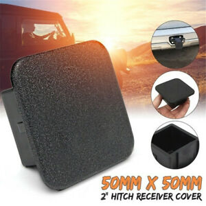 2 Trailer Tow Hitch Receiver Cover Plug Dust Cap Fit Toyota Chevy Jeep Gmc Ford