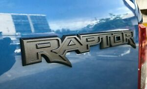 Genuine Raptor Logo Emblem Badge For Rear Tail Gate Ford Ranger 2015 2020 Oem