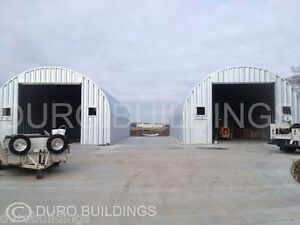 Durospan Steel 35x56x16 Metal Garage Building Shop Made To Order Factory Direct