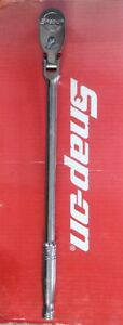 Snap On Tools 1 2 Drive 17 3 4 Long Flex Head 80 Tooth Ratchet Sf80 Ships Free