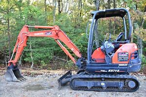 2017 Kubota Kx71 3 Mini Excavator Low Hours