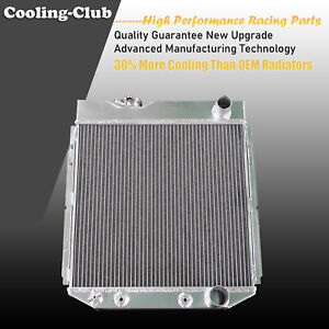 Fit 65 66 Mustang 63 65 Ford Falcon Mercury Comet V8 3 Row Aluminum Radiator
