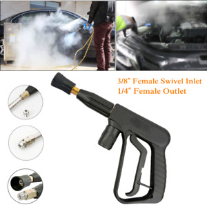 1 trigger Spray Gun Car Wash Pressure Rl30 Pa Swivel Inlet For Steam Car Washer