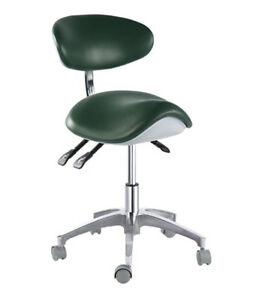 Standard Dental Mobile Chair Saddle 1 Doctor s Stool Pu Leather Dentist Chair