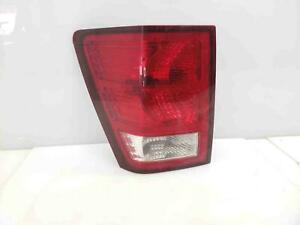 2007 2010 Jeep Grand Cherokee Left Driver Tail Light Stop Lamp Oem