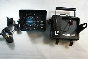 Lowrance 2000-2060C Depth Sounder Real Time Sonar System  Complete Set