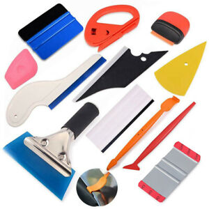 Auto Window Tinting Tools Kit Vinyl Film Wrap Application Installation Squeegee
