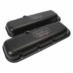 Edelbrock 41813 Victor Series Valve Covers Chevy Big Block V8
