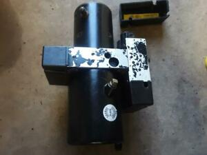 Working Fisher Minute Mount 8 5 9 5 Ez V Snow Plow Pump Insta Act Mmii 2 66779