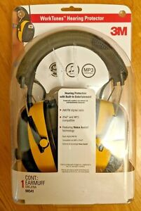 3m Worktunes Hearing Protector With Am fm Radio Ipod Mp3 Compatible New