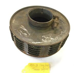 Used Original Air Cleaner For 1937 1938 Chevy Chevrolet Truck