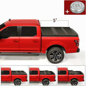Jdmspeed Hard Solid Tri Fold Tonneau Cover For 2020 Jeep Gladiator Jt Pickup