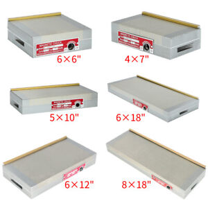 4x7 5x10 8x18 Inch fine Pole Magnetic Chuck Machining Workholding Permanent