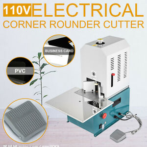 Corner Rounding Machine 110v Electric Round Corner Cutter 7 Build In Dies R3 r10