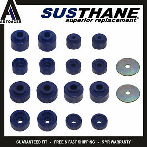 For Ford Explorer Sport Trac 01 05 Front Rear Body Cab Mount Bushing Kit Pu