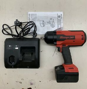 Snap On 18v 1 2 Drive Monsterlithium Cordless Impact Wrench W Charger Ct9075