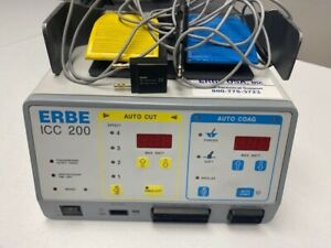Erbe Icc 200 Electrosurgical Unit W footswitch accessories
