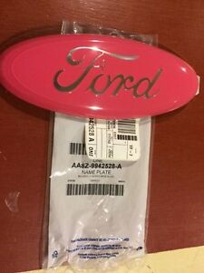 2004 2014 F150 Tailgate Or Grille 9 Inch Emblem Gloss Pink Custom Painted