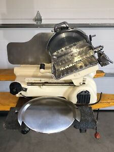 Vintage Us Berkel Commercial Slicer Model Gc