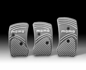 Momo Manual Pedal Match Titanium 100 Genuine Made In Italy New Last One