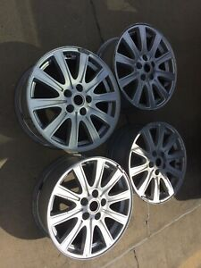 Land Rover Lr3 Oem 18 Slotted Wheels 4 W Tpms