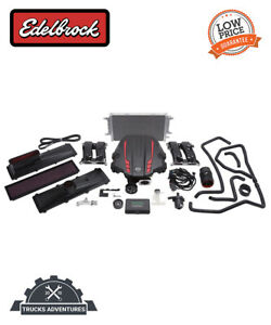 Edelbrock 1556 E Force Stage 1 Street Systems Supercharger Fits 13 16 Brz Fr S