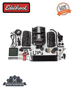 Edelbrock 1580 E Force Stage 1 Street Systems Supercharger Fits 05 09 Mustang