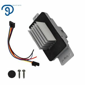 For Blower Motor Resistor Speed Control Module Upgrade Kit 19329838 19260762