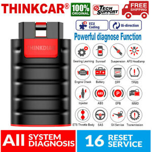 Thinkdiag Obd2 Scanner Bluetooth Car Abs Srs Bidirectional Ecu Coding