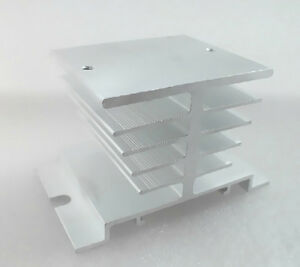 Aluminum Heat Sink For 10a 40a Ssr Solid Statezf Type Heat Dissipation