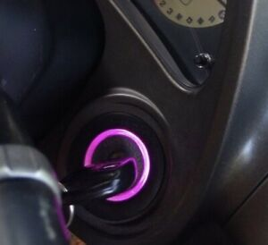 Pink Purple Key Ring Led Bulb For Lexus Is300 2001 2005