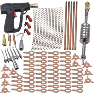 86pcs Dent Puller Kit Car Body Dent Spot Repair Device Welder Stud Weld Welding