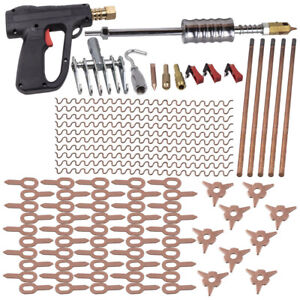 86pcs Stud Welder Dent Pullerspot Welding Pulling Auto Repair Tools Kit New